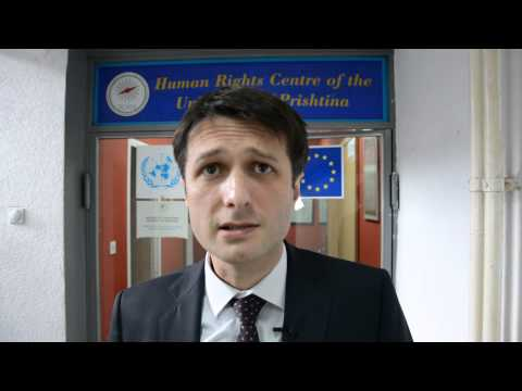 Valon Murati - Director of The Human Rights Centre of the University of Prishtina