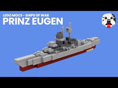 Ships Of War Mini Lego Prinz Eugen Heavy Cruiser Moc Video