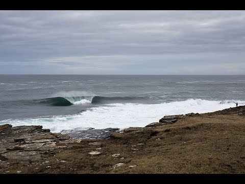 Hunting for Scottish Slabs with Pete Devries and Noah Cohen | SURFER | On Location