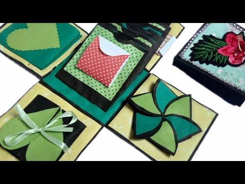 Explosion Box Gift Idea For Birthday & Anniversary ♥/ Birthday Gift Ideas Homemade / Handmade Craft