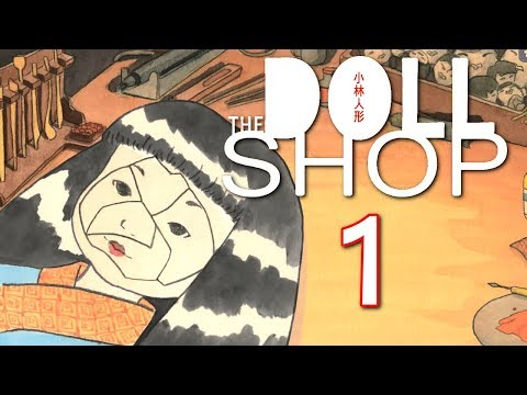 "The Doll Shop - ""All Dolled Up"" (Adventure Horror) Manly Let's Play [ 1 ]"