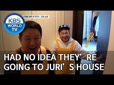 Had no idea they're going to Juri's house [Trio's Childcare Challenge/ENG/2019.10.23]