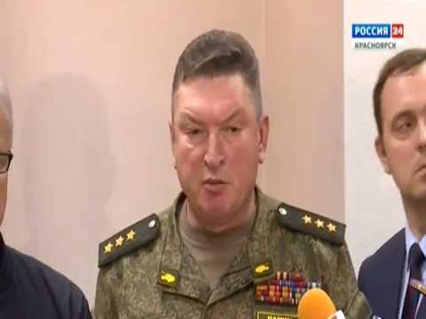 Брифинг: командующий войсками Центрального военного округа генерал-лейтенант Александр Лапин