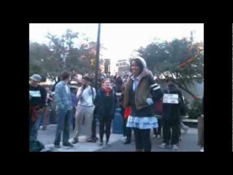 GSU student speaking out on education with Occupy Atlanta