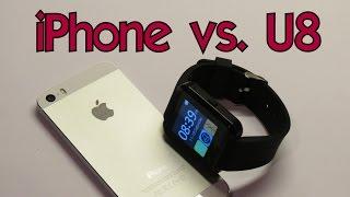 iPHONE vs. U8 →Test,compabilita,připojení│Aliexpress česky│Unboxing - rozbalovačka│TEST│