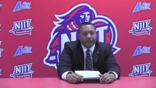 NJIT Women's Volleyball Post Game vs. Lipscomb