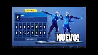SKIN *GALAXY* DANCING ALL FORTNITE BAILES: Battle Royale