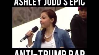 Ashley Judd Speaking at the Women's March January 21, 2017