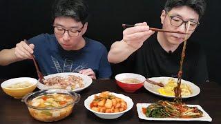 요리하기 싫은날, 초간단 양파계란덮밥 먹방, 해물덮밥,…