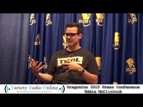Eddie McClintock  Dragon Con 2015