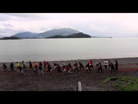 The Drum Routine Tlingit - Haida - Tsimshian