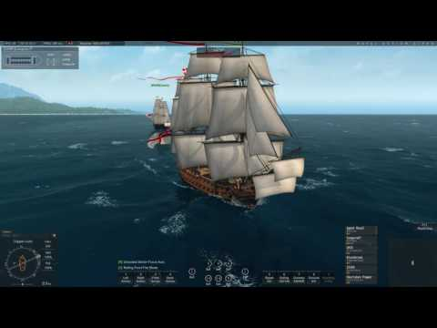 Naval Action] British vs Pirates Battle front Port Morant | Oct 6, 2016