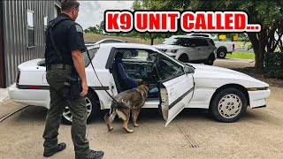 homepage tile video photo for We found SERIOUS drugs in the Toyota Supra - K9 Unit called