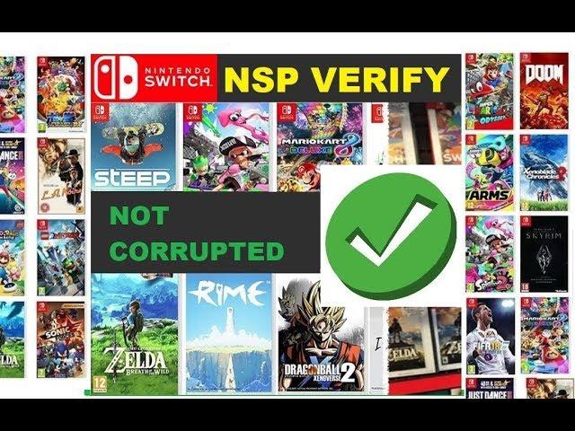 Como Conferir a Integridade dos Seus Jogos NSP usando NspVerify 1 01