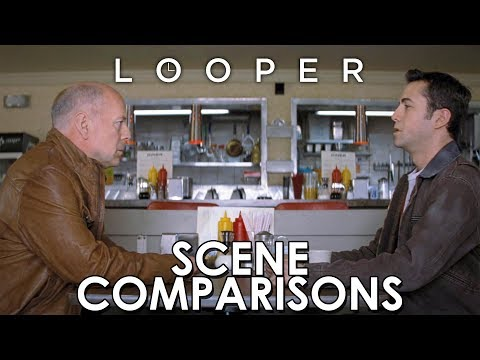 Looper (2012) - scene comparisons