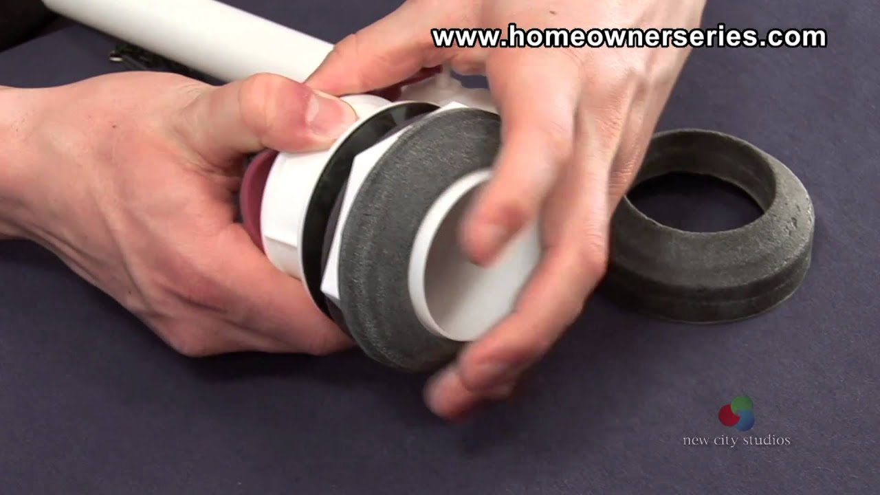 How to Fix a Toilet - Parts - Flush Valve - YouTube
