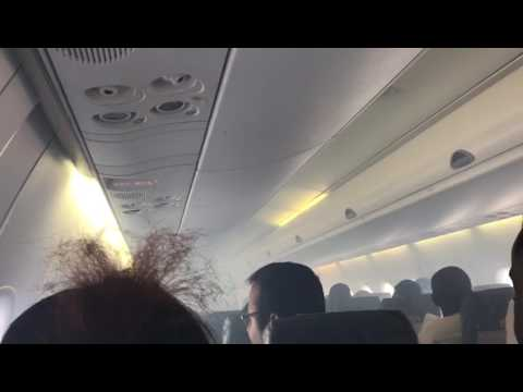 Smoke fills the cabin of an Aero Flight from PHC to Lagos