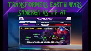 SYNERGY Vs TF AT Transformers Earth Wars