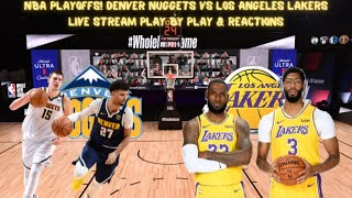 Western Conference Finals; Game 5 Denver Nuggets Vs. Los Angeles Lakers