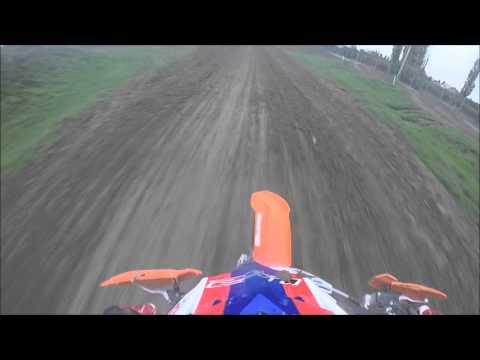 GoPro HD: KTM125, two laps in new layout of @Campogalliano Motocross (MO) NO MUSIC!