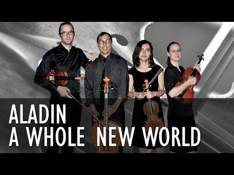 A Whole New World - Aladin - String Quartet COVER