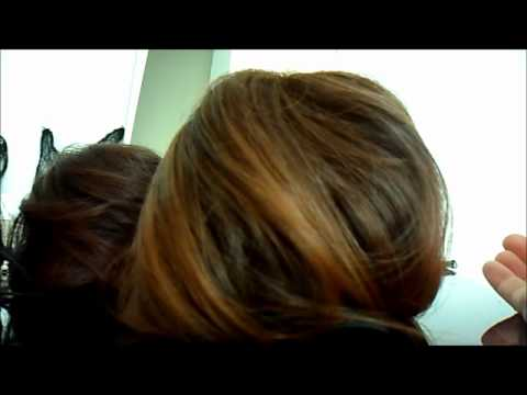 Big Bun Wig Hair Extensions Hairstyle