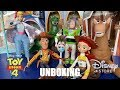 """Download Video Toy Unboxing Review: """"Toy Story 4"""" Interactive Talking Action Figures MP4,  Mp3,  Flv, 3GP & WebM gratis"""