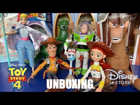 """Toy Unboxing Review: """"Toy Story 4"""" Interactive Talking Action Figures"""