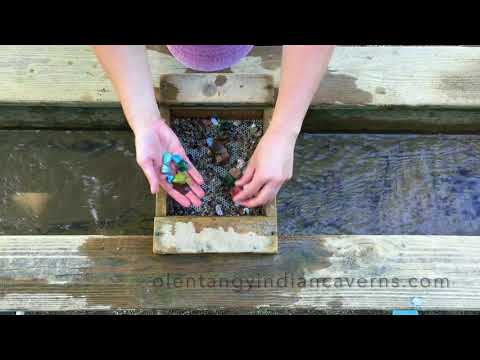 Gem Mining At The Olentangy Indian Caverns