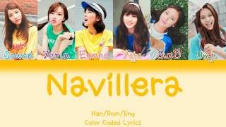 GFRIEND (여자친구) - NAVILLERA (너 그리고 나) [HAN|ROM|ENG Color Coded Lyrics]