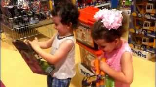 VLOG: ToysRus (Хайфа, Гранд Каньон). ToysRus Haifa Grand Canyon. טויזארס חיפה גרנד קניון