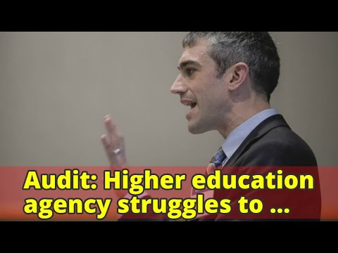 Audit: Higher education agency struggles to follow state contracting rules