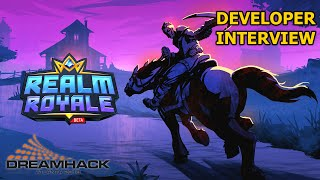 Realm Royale: Interview with Rory Newbrough (HRX @ Dreamhack)