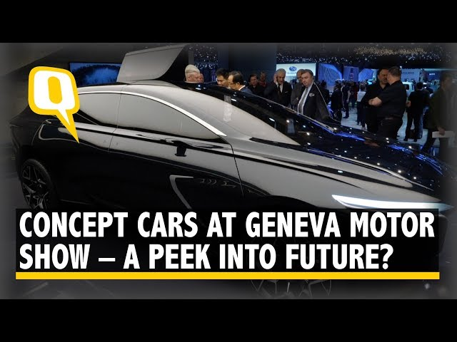 Stunning Concept Cars at Geneva Motor Show 2019 – a Peek into Future? | The Quint