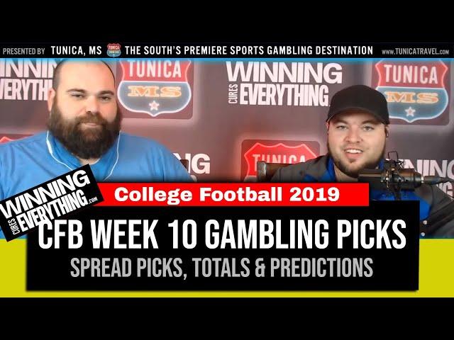WCE: 2019 College Football Week 10 Gambling Picks (Against the Spread)