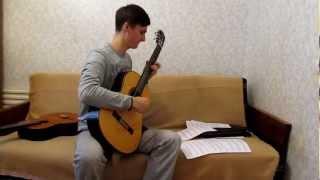 Зеленые рукава...В. Кузнецова...Classical Guitar