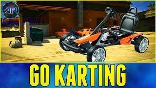 Grand Theft Auto 5 Online : Go Kart Racing - Part 1