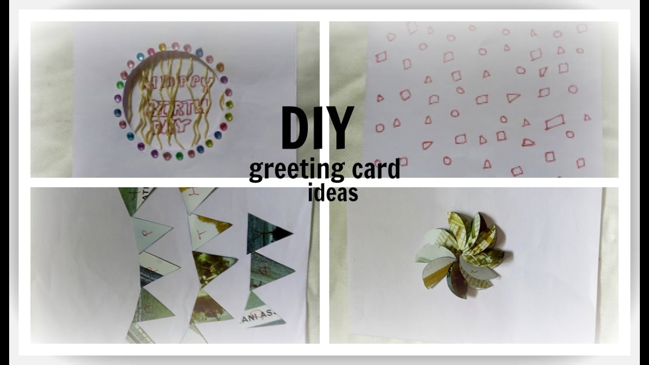 DIY christmas Card Ideas- Easy & Simple -Homemade greeting card idea ...