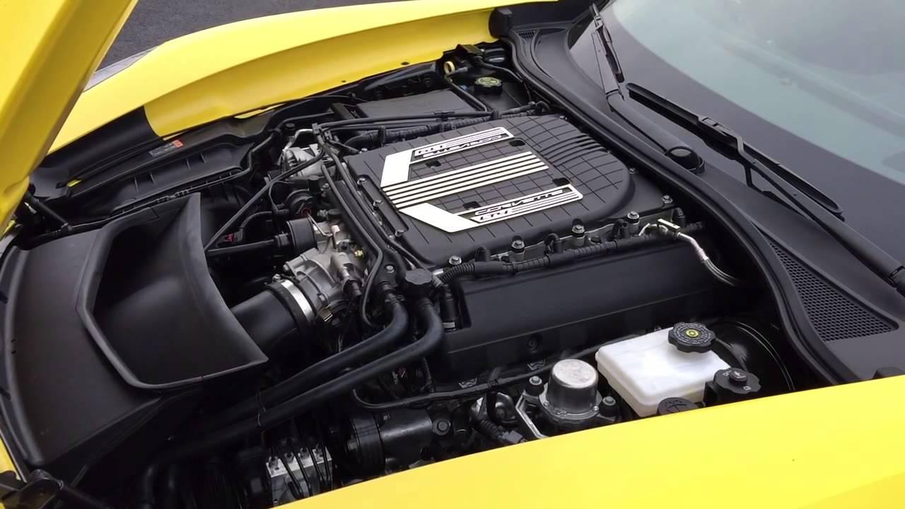 2015 Chevrolet Corvette C7 Z06 Lt4 Supercharged Engine