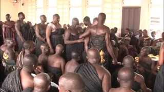 Swearing of Oath of Allegiance at Manyhia Palace