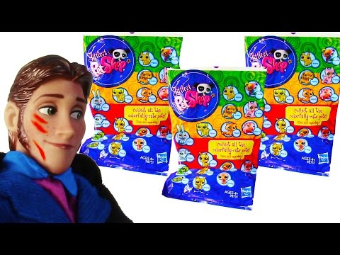 LPS Colorfully Cute Pets Blind Bags Littlest Pet Shop Toy Opening Frozen Prince Hans Review