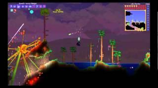 terraria 1.2 простой способ убить Plantera, новый NPC Киборг(способ убить планетра с минимальным риском), 2013-10-08T16:39:45.000Z)