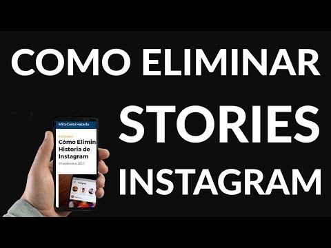 Cómo Eliminar una Historia de Instagram