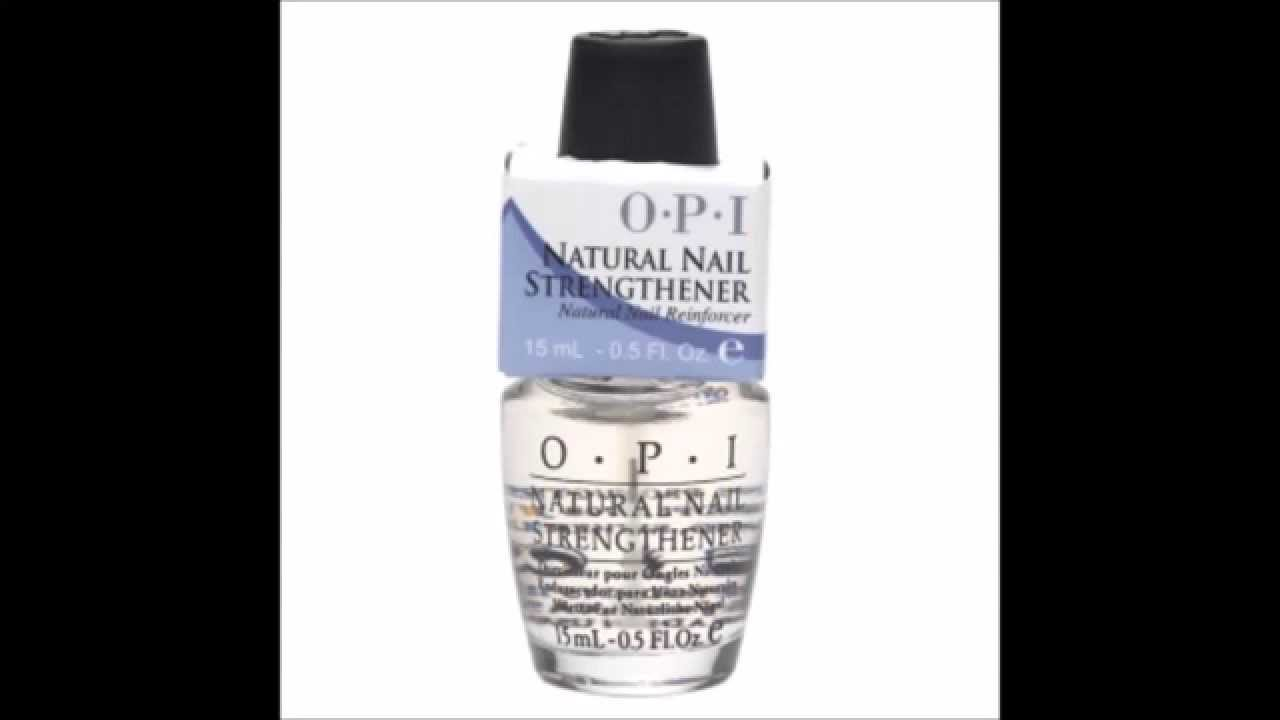 OPI Natural Nail Strengthener - YouTube