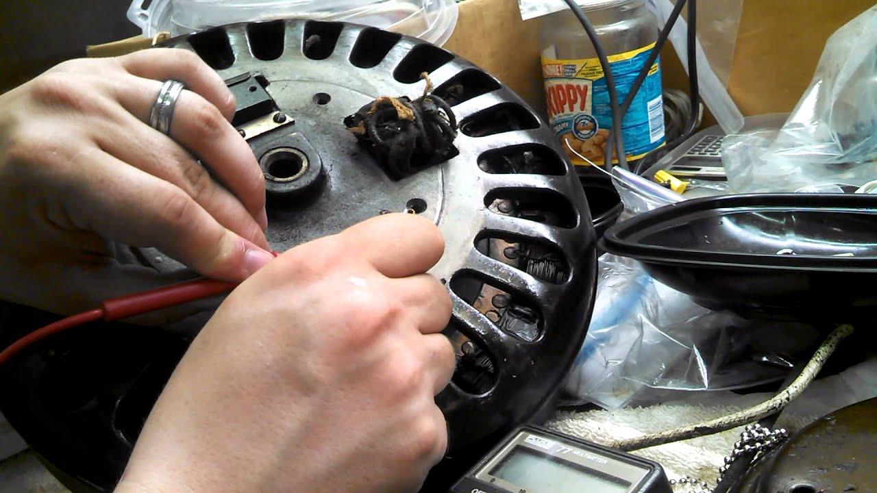 Old Ge Test Instruments : Antique general electric ge ceiling fan motor model