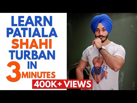 Learn Patiala-Shahi Pagg IN JUST 3 MINS 😱