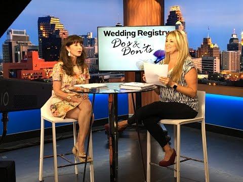 Wedding Registry Etiquette by Etiquette Expert Diane Gottsman