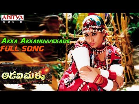 Adavi Chukka Telugu Movie || Akka Akkanuvvekade Full Song || Vijayashanthi