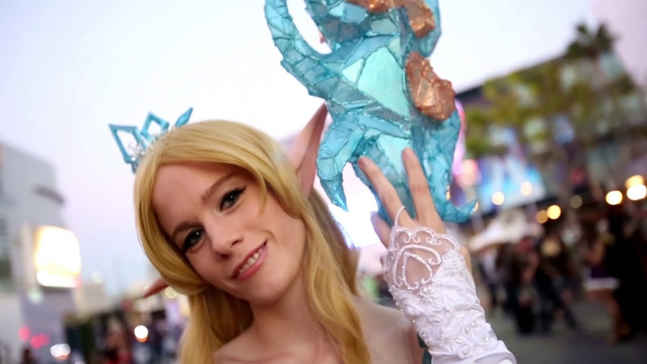 cosplay League girl of legends