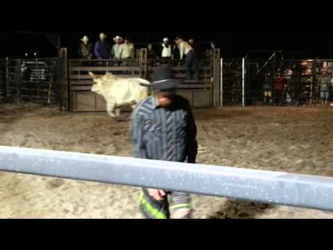 The Hitching Post(Bull Rider Thrown)